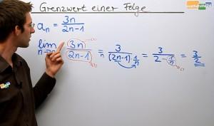 Grenzwert Folge - Grenzwerte Folgen - Mathe Nachhilfe